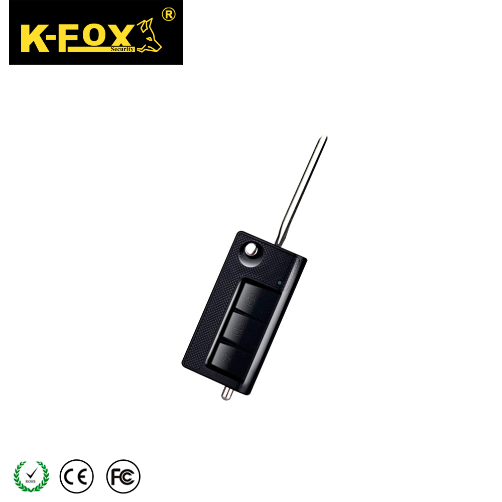 Hot seller car alarm remote, keyless entry with flip key KD-X67 sale