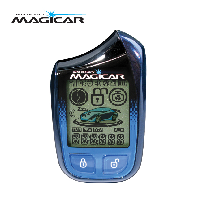 Magicar Car Alarm Two way remote start System M901 sale