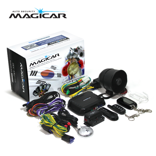Magicar Car Alarm Two way remote start System M300 sale
