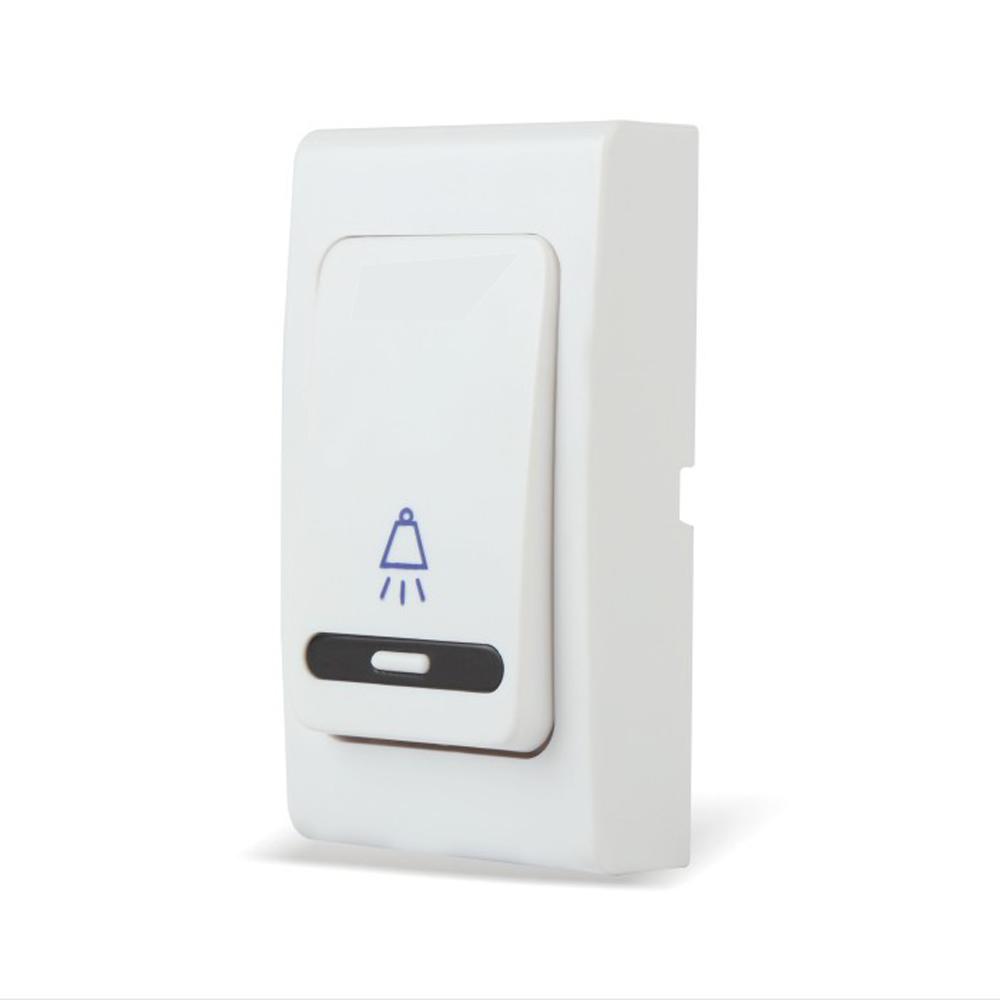 Forecum-5 Wireless Doorbell 100m Cordless Remote Control Waterproof Wireless Smart Door Bell with Push Button