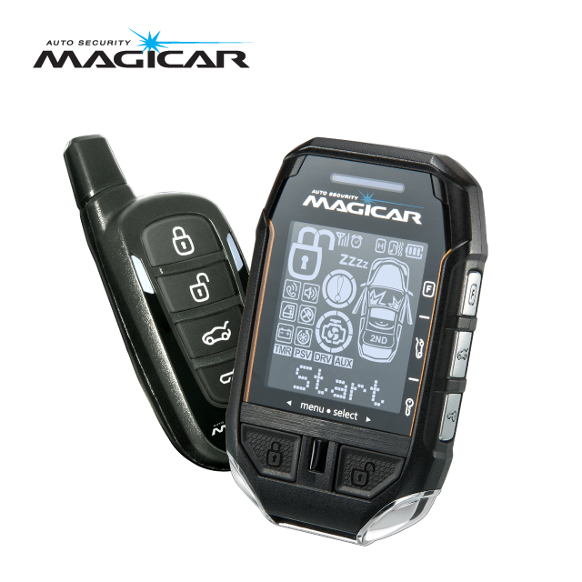 Magicar Car Alarm Two Way Remote Start System M500 Sale