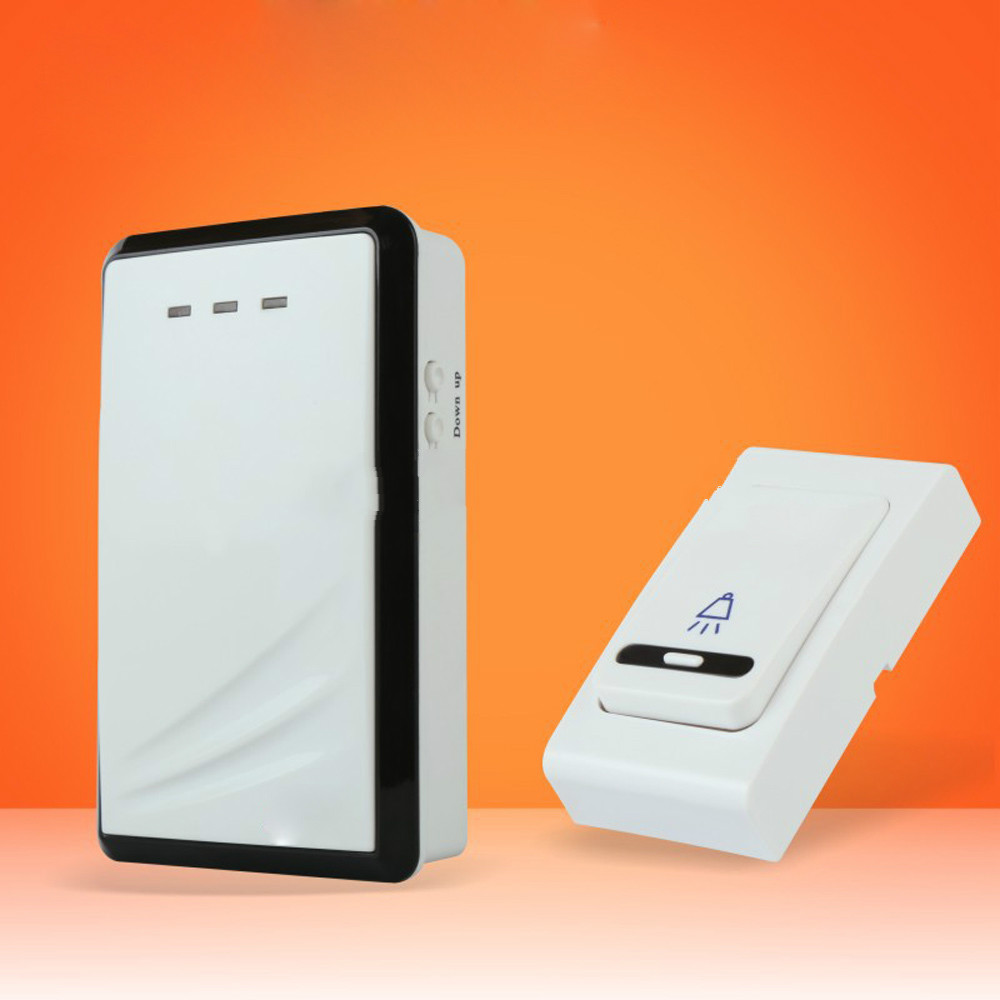 New Long-range wireless doorbell with chime 36 melodies Waterproof cover 100m for sale