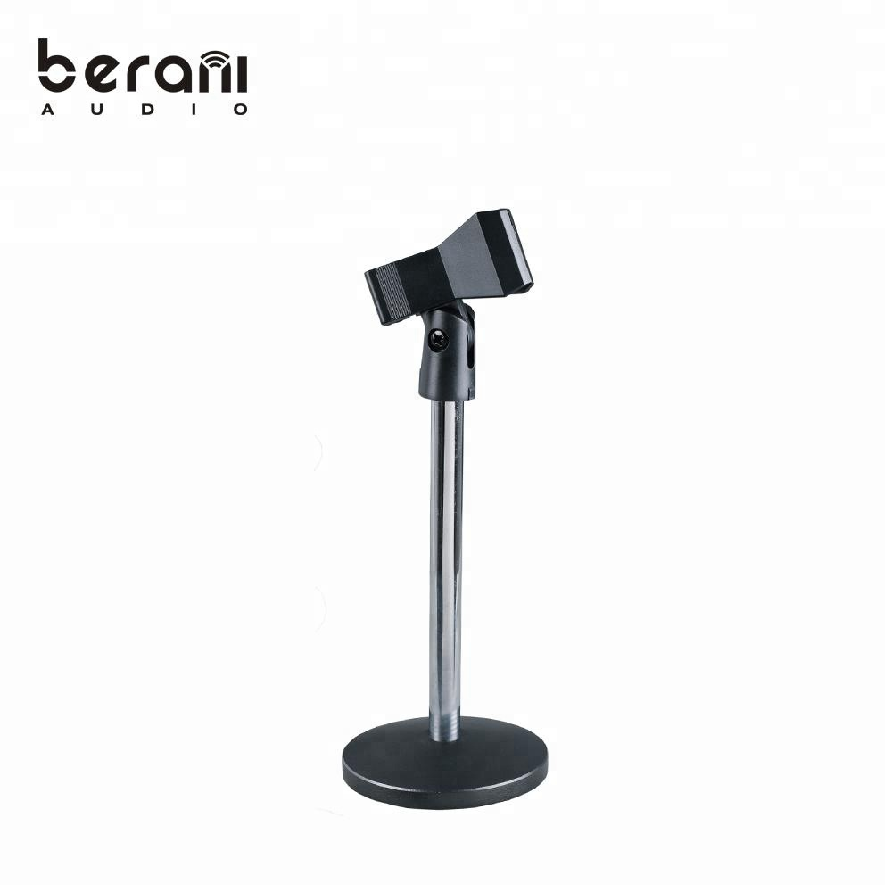 D-101 Round base steel table stand microphone for sale