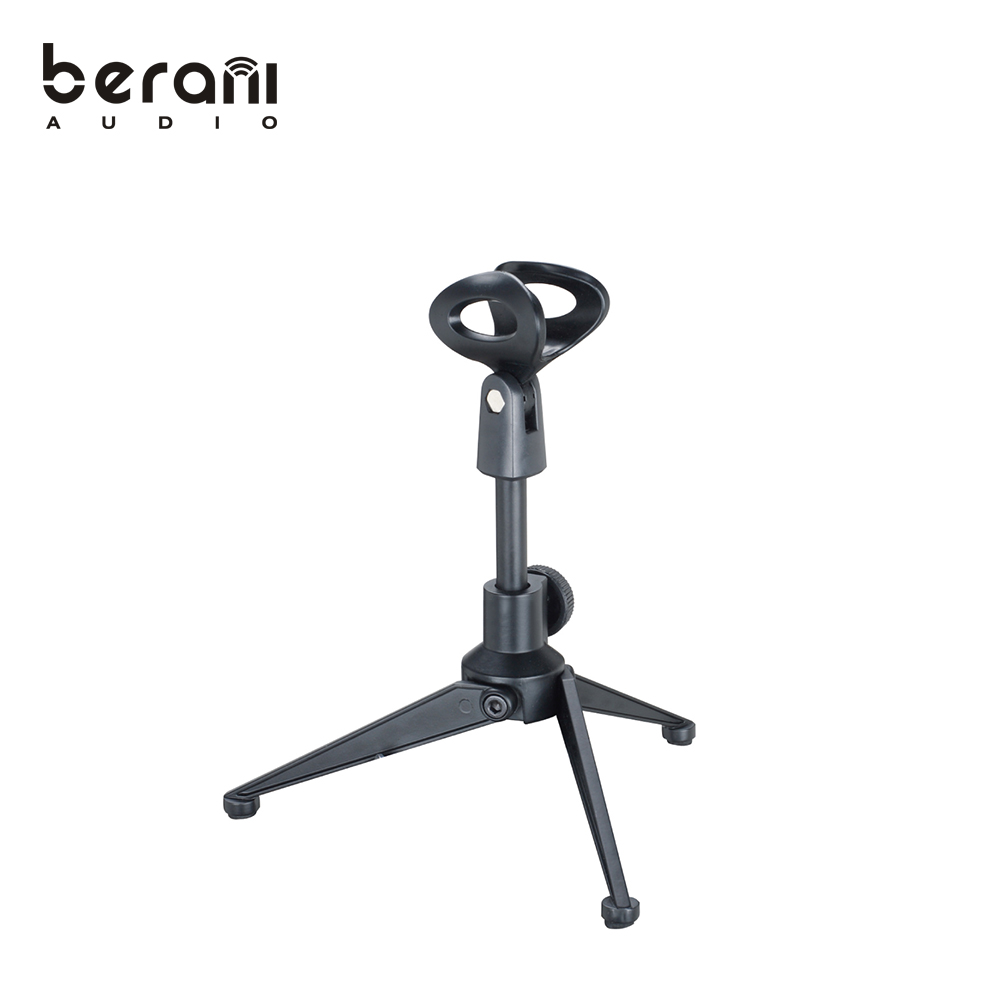 D-112/112A Aluminum/Zinc microphone holder/clip tripol table top microphone stand for sale