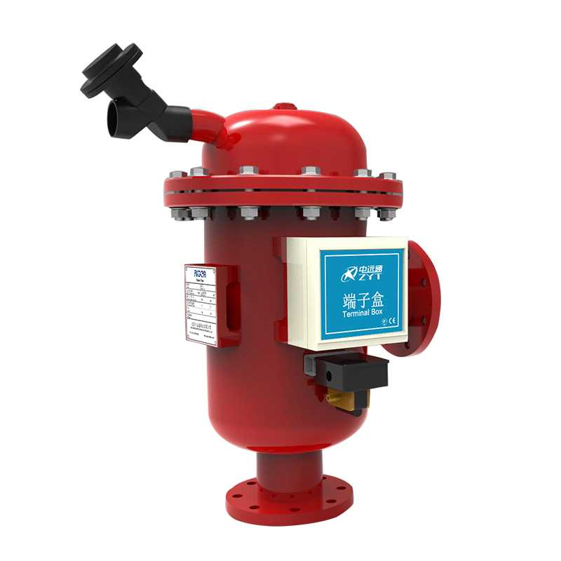 Vertical hydraulic drive A100 series automatic self cleaning water filters