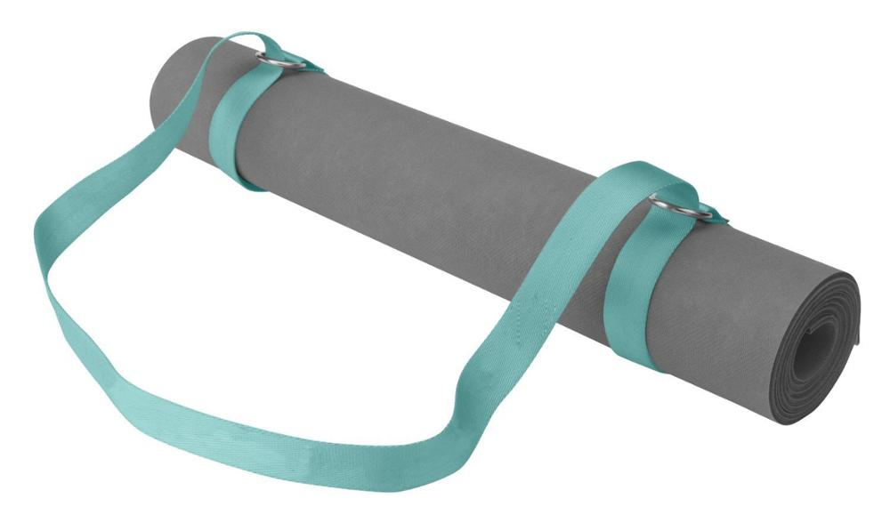 Hot Selling Fashion Portable D Ring Top Level Roll Yoga Mat Strap for sale