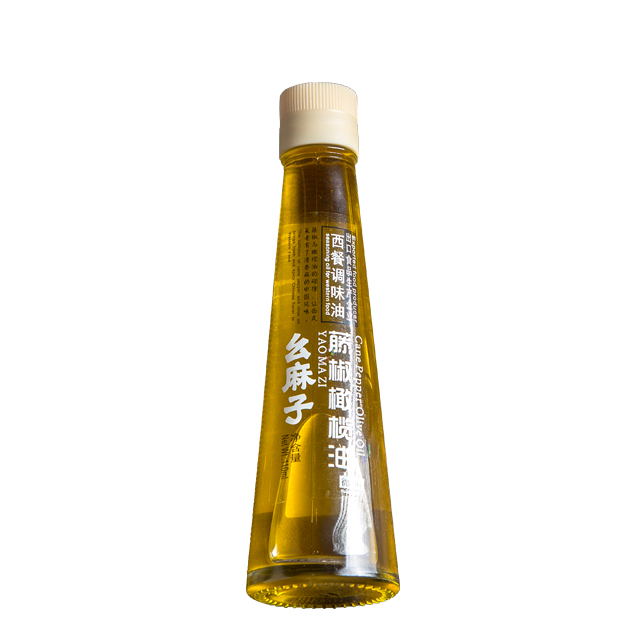 New Type Western Food Seasoning Sichuan Green Pepper Olive Oil for sale