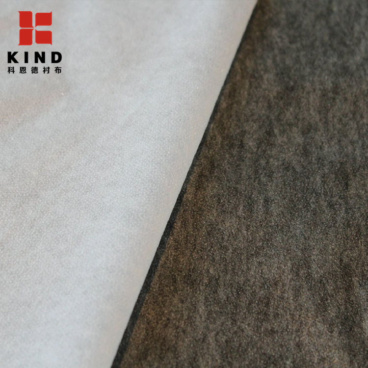 High Quality Polyester Non Woven Fusible Interlining, Fusible Interfacing for sale
