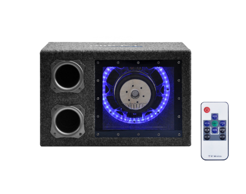 8 INCH 800W 10 INCH 1000W 12 INCH 1200W SUBWOOFER INBUILT LED BOX SYSTEM CP8022 for sale