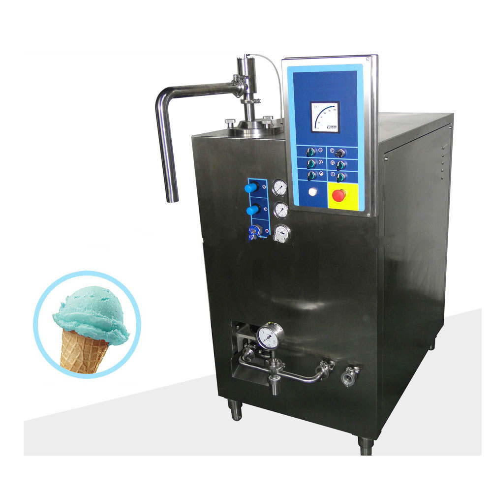 300L ice cream freezing machine frozen equipment small continuous freezer in high quality