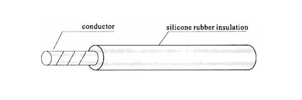 Silicone Rubber Insulation High-voltage Installation Wire(5KV-DC-30K V-DC)