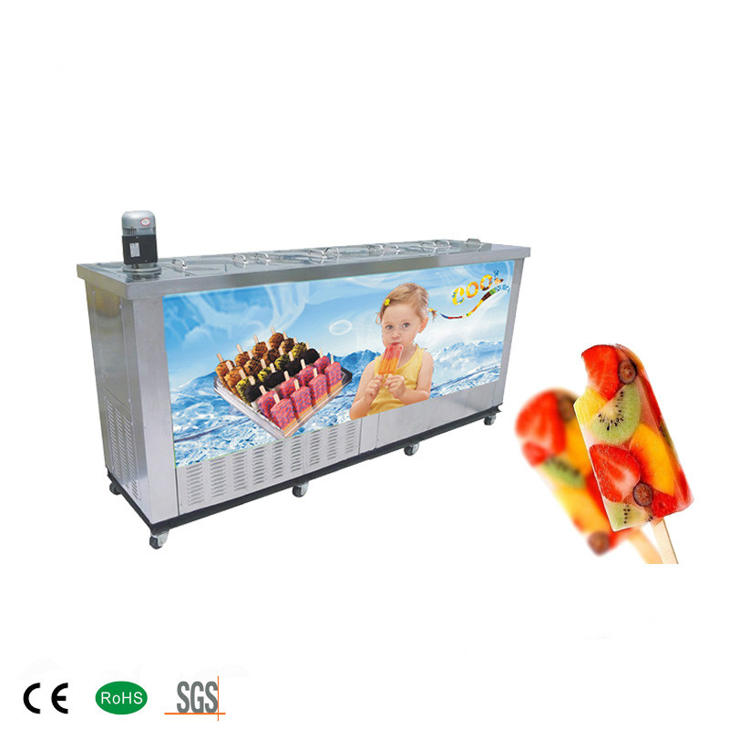 10 Moulds Popsicle Machine Ice Lolly Machine Manufacturer