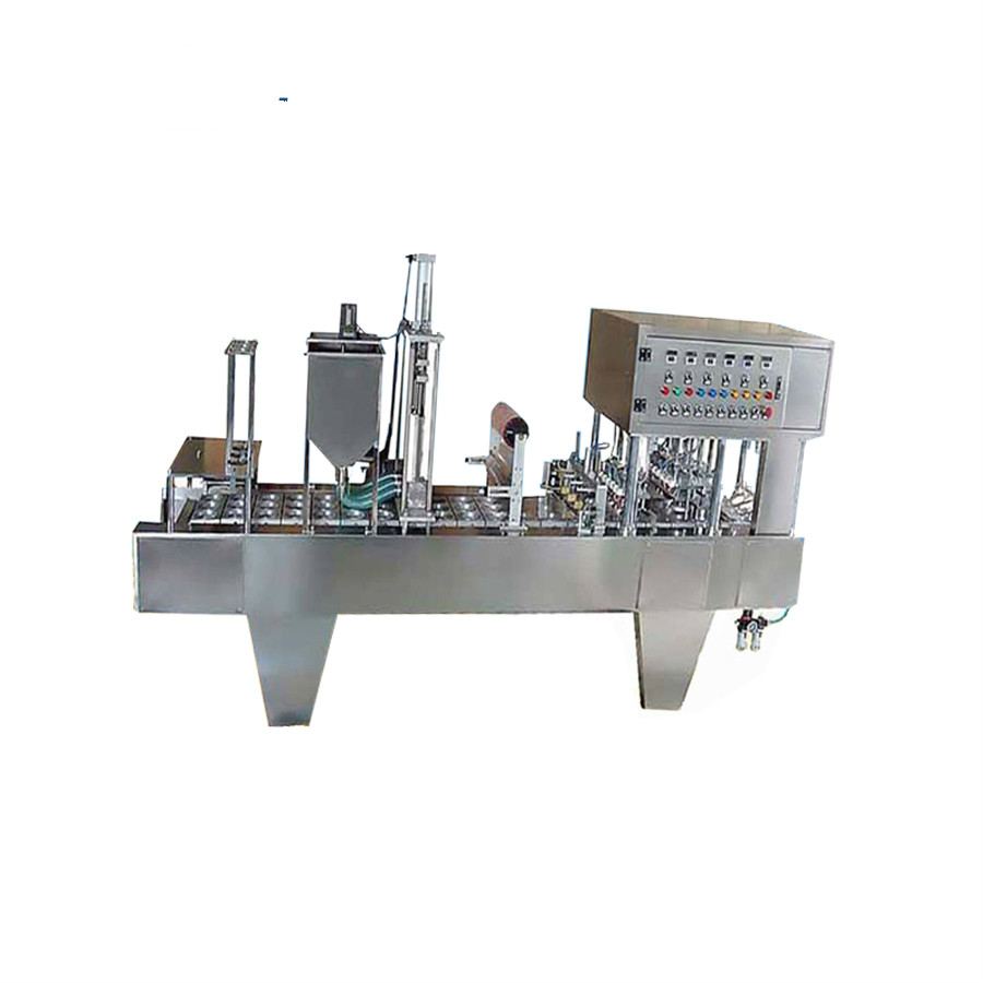 Automatic Commercial Ice Cream and Yogurt Cup Filling Sealing Machine Manufacturer
