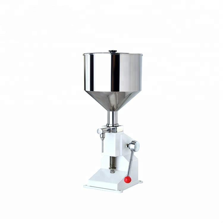 Manual Paste Liquid Flling Machine for Ice Cream Cup, Juice