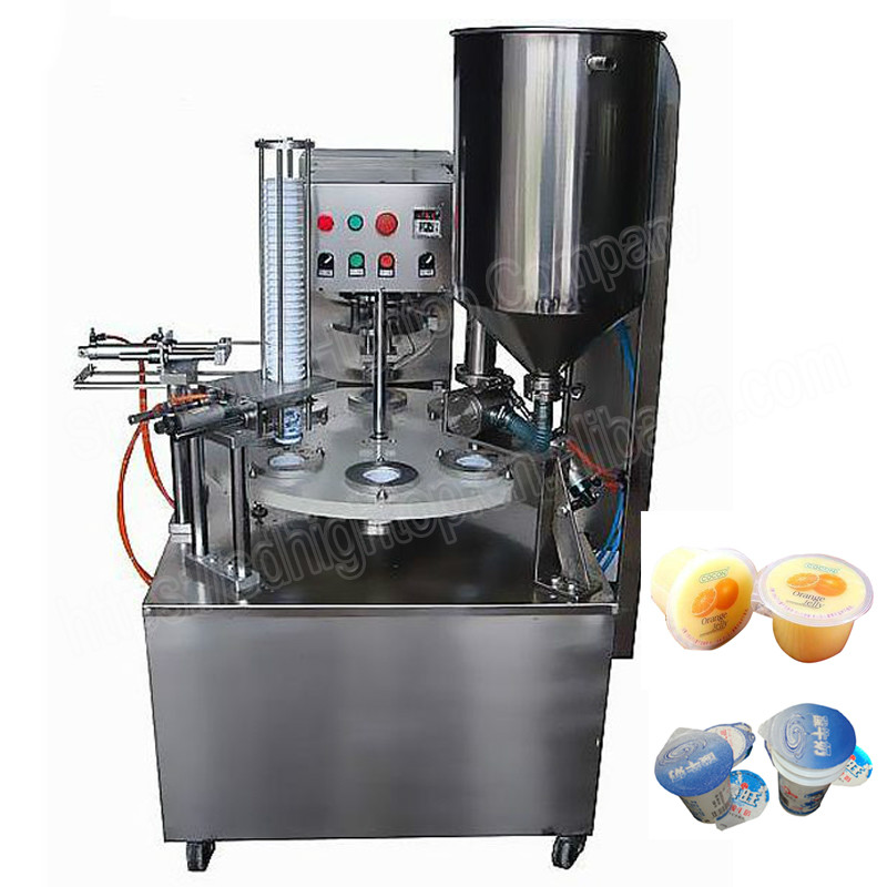 Ice Cream Rotary Cup Filling Sealing Machine Automatic Supplier