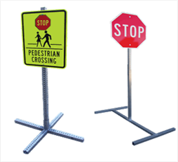 Folding Traffic Sign Frame
