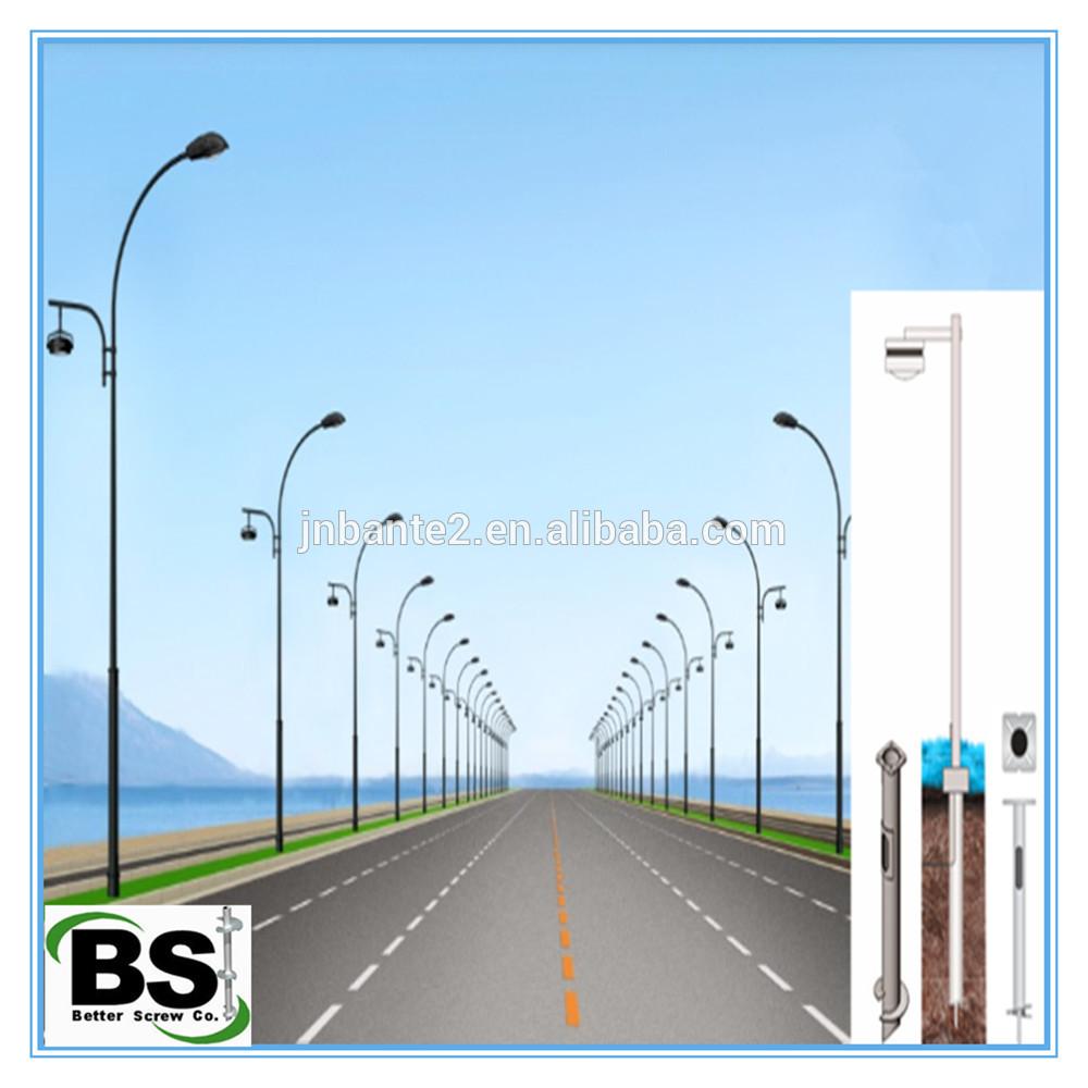 Light Pole Foundation Anchors