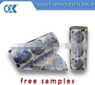 Food packaging film/plastic printed bopp laminating roll film