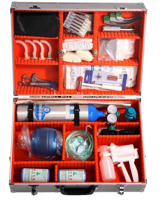 Emergency First Aid Kit With Aluminum Box XH-07C