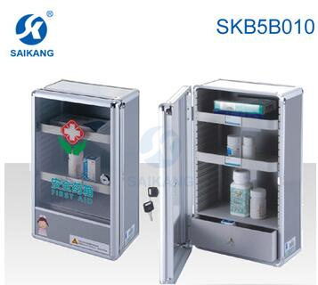 SKB5B010 FDA Certification Comfortable Stainless Steel First Aid Kit