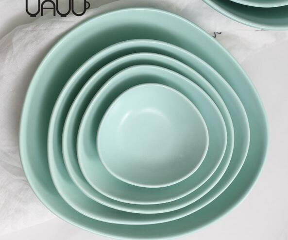 soy sauce dish unbreakable cheap porcelain plate