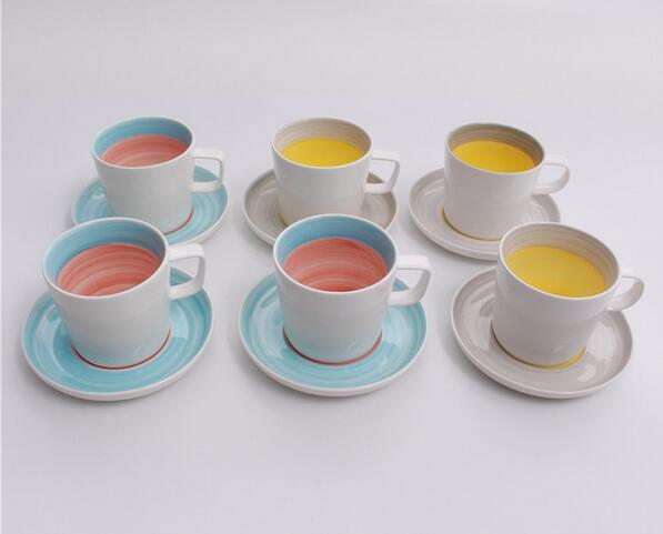 straight fine porcelain customized mugs