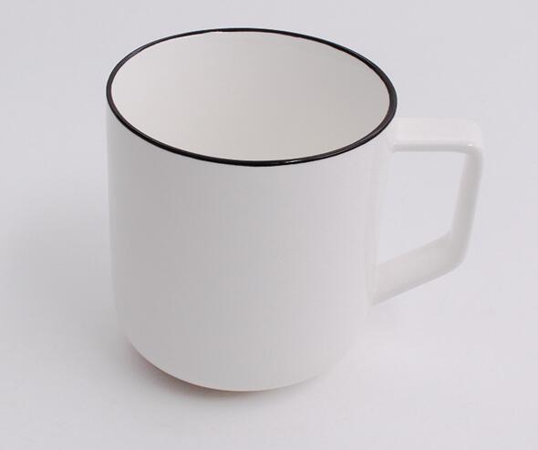 16 oz latte ceramic coffee mug with custom printing