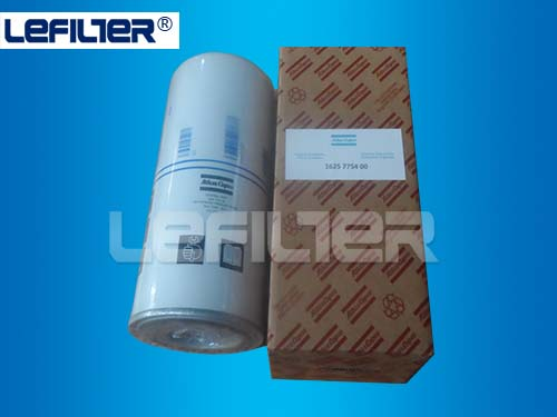 Atlas copco oil cartridge filter 1625775400 for air compressor