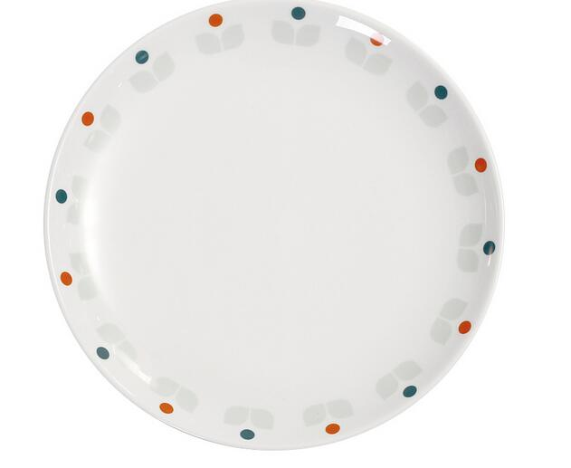 7inch durabble dinner plate with fresh printed
