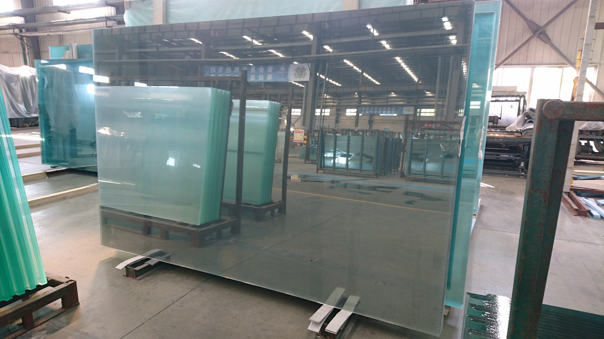 commercial refrigeration low-E glass