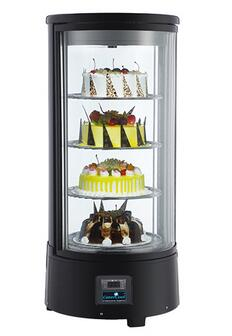 72L Small Cold Counter Cake Stand Display with CE UL RoHS ETL