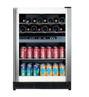 155L Built in Type 44 Bottle Upright Electric Display Fridge Wine Chiller