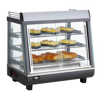 76L 96L Countertop Food Hot Display Showcase Warmer For Sale Snack