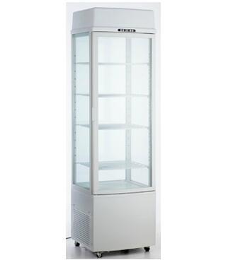 235L Glass Door Refrigerator with CE UL RoHS ETL
