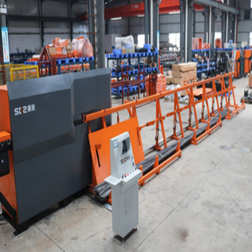 the cold rolled coil automatic rebar/steel straightening and cutting machine supply