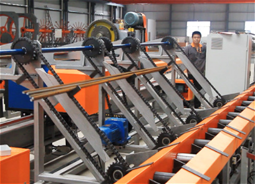 10-40mm Automatic Rebar Shearing Line/Steel Reinforcing Bar