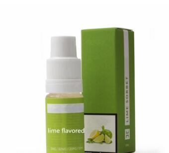 E Concentrates Electronic Cigarette Liquids Flavor Lime Flavor