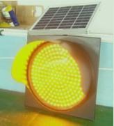 Solar Traffic Warning Lights