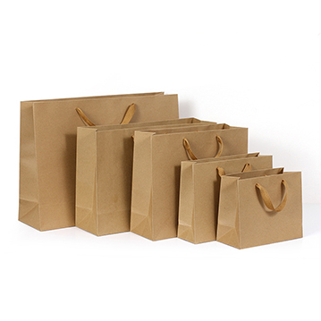 Custom Shopping Kraft Paper Bag with Handles