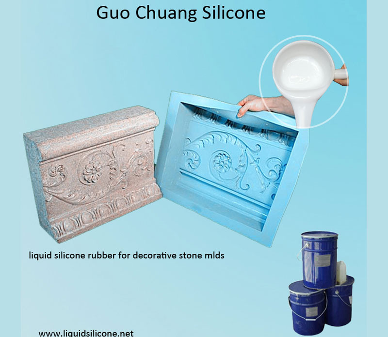 Addition Cure rtv-2 Liquid Silicone Rubber for Concrete & Stone moulds