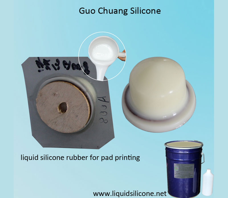 Platinum Cure Pad printing Silicone Rubber