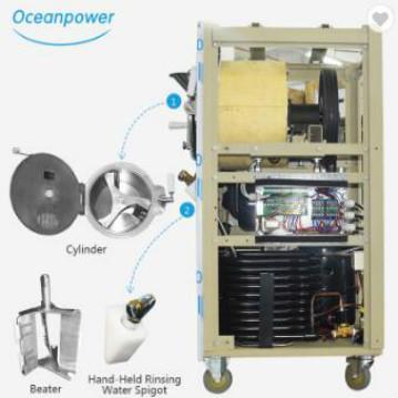 Commercial Carpigiani Hard Ice Cream Machine,gelato machine, batch freezer Oceanpower OPH76 for sale