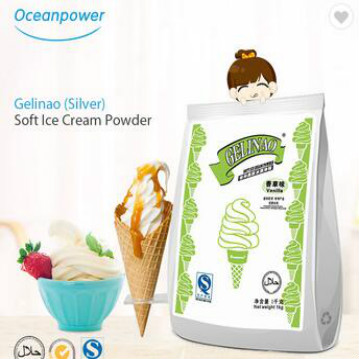 Oceanpower Gelinao(Silver) Soft ice cream powder