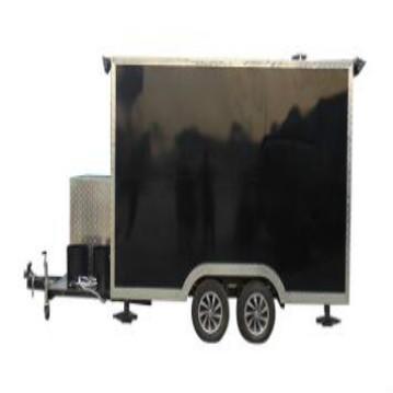 OEM practical fast food mobile kitchen trailer