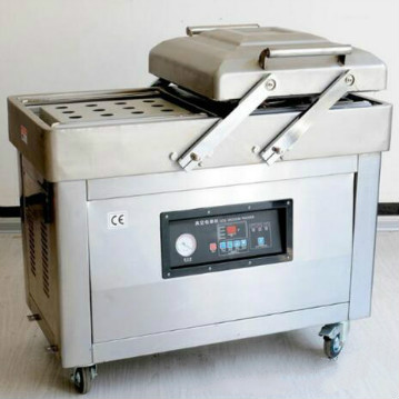 Commercial Double Chamber Dates Meat Vacuum Packaging Machine