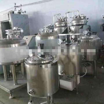 Single Tank Type Small Pasteurization Machine for Fresh Milk
