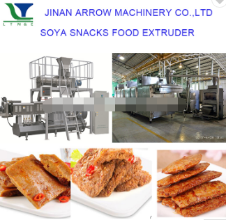 Stainless Steel Soya Nugget Food Production Line