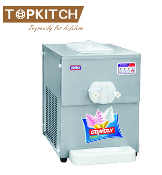 Pre Cooling System 3 Flavor CE Approved Rainbow Soft Ice Cream Machine