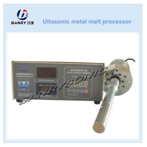 ultrasonic metal TIN melt treatment device for sale