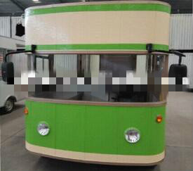 china electric ice cream vending food bus for sale